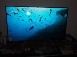 Uma smarte tv de 55 polegada pouco usada