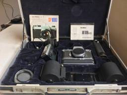 Kit Pentax spotmatic II Reporter com back para 250 fotos colecionador