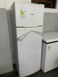Geladeira duplex e freezer horizontal cônsul semi novos