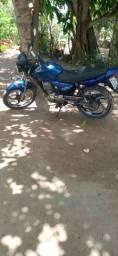 Moto titan 2008 azul