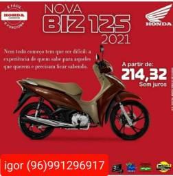 Biz 125 aproveita nossa promoção Mônaco Honda *
