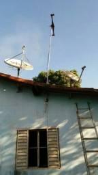 Rei das Antenas e Apontamentos pra satélite