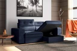 Sofa retratil com bau Acapulco MMM617