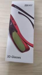Óculos 3d Para Projetor Optoma Zd302 - Dlp Link Original !!!