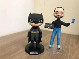 Boneco E Personagem Minico Batman Liga Da Just. 14cm