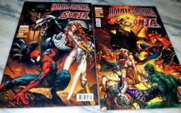 Título do anúncio: Homem-Aranha e Sonja a guerreira.