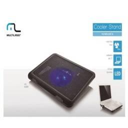 Cooler Multilaser Para Notebook Slim Com Led