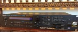 Módulo Sintetizador Roland JV 1080 com Memory Card novo
