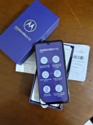 "Motorola One Zoom 128GB Tela 6.4"" Snapdragon 675 Câmera 48MP, NOVO, NOTA FISCAL.<br><br>"