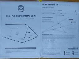 Mesa Desenho Mocho Slim A3 - Nova