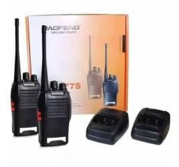 Rádio comunicador walk talking top entregamos
