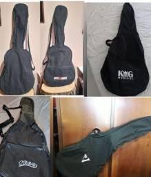 Título do anúncio: Capas violão usadas em ótimo estado a partir de 20,00 Bairro Ouro Preto - Pampulha