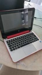 Notebook 2 em 1 HP Pavilion x360, troco em notebook maior!
