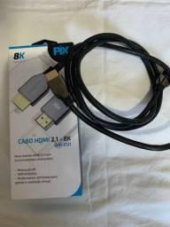 Título do anúncio: Cabo HDMI 2.1