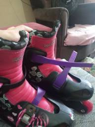Patins in line 4 rodas completo