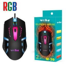 Título do anúncio: Mouse Com Fio Gamer USB Weibo M-39