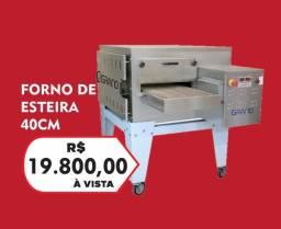 Forno de esteira GRANO - JM equipamentos
