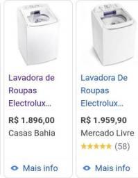 Vendo lavadora de roupas Eletrolux 13 kg 1000.00