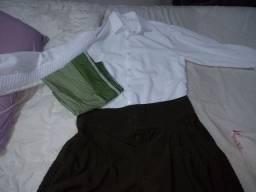Título do anúncio: Bombacha. Camisa e lenço. Novo
