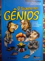 Livro O segredo dos gênios - Renato Alves