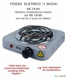 Título do anúncio: Fogão elétrico 1 Boca novo Lacrado Até 3X no cartão.