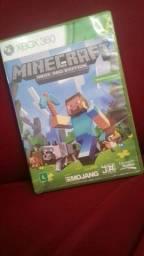 Jogo original Minecraft semi novo (vendo ou troco em outono jogo que eu não tenho)