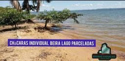 Chácara parceladas com acesso individual ao lago