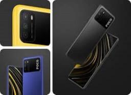 Poco M3 Azul/Preto/Amarelo 4+64GB