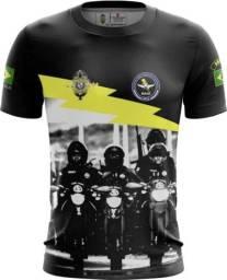 Camiseta Camisa Raio Pmce-rai (uso Liberado)