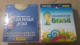 Título do anúncio: albuns copa 2014 e 2018