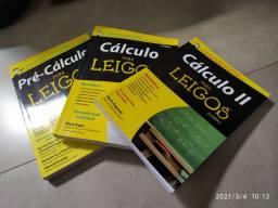 Cálculo para leigos - pré cálculo, cálculo I, cálculo II