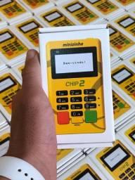 Maquininha de cartão com Chip