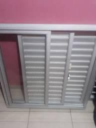 Janela alumínio 1 10x1 10