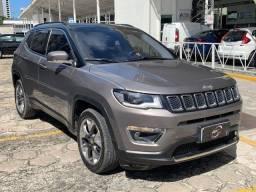 Jeep Compass Limited 2018 Km baixa! Impecável! Revisado / Garantia / Aceito Trocas!