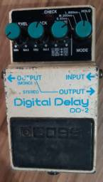 Boss Delay DD-2 (Tape Echo Mod)