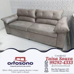 Título do anúncio: sofá sofá && sofá assento fixo
