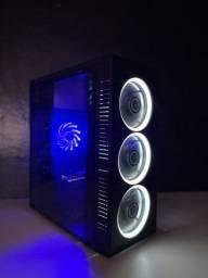 Título do anúncio: PC Gamer i5 GTX 750Ti 8GBs DDR3 c/SSD - Loja Gorilla Tech (AC Cartão, Novo)