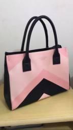 Bolsa rosa media