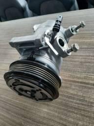Compressor do ar condicionado CHEVROLET Tracker 2021 Semi novo Original