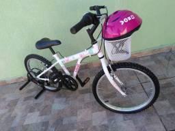 Bicicleta Caloi Ceci aro 20 com 7marchas.