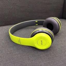 Título do anúncio: Fone de ouvido bluetooth sem fio MP3 Sd Card