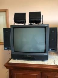 TV de tubo Philips 28 polegadas