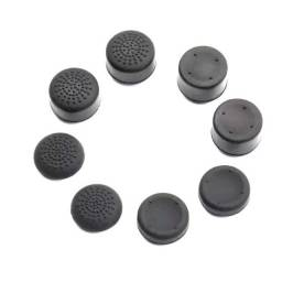 Kit 8 Grips Extensores Analógicos Controle Ps4 Xbox One 360