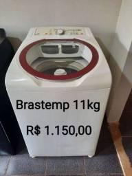 Lavadora de roupas Brastemp 11 kg semi nova