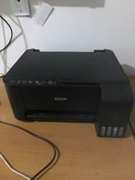 Título do anúncio: Impressora Epson EcoTank com wifi L3150 (novinha)