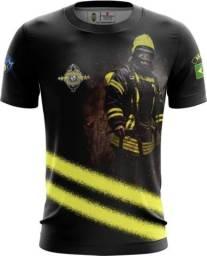 Camiseta Camisa Bombeiros -vpv (uso Liberado)
