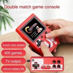 Título do anúncio: Super Mini Game boy com controle 400 Jogos Portátil Recarregável