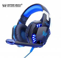 Promoção Fone De Ouvido Gamer Kotion G2000 Preto E Azul