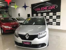 Título do anúncio: Renault Logan Authentique 1.0 Manual 2018 Financiamento Totalmente Sem Entrada