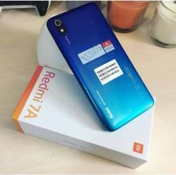 Xiaomi Redmi 7A 32GB 3 De Ram Loja Fisica + 1 Ano de Garantia + Brinde